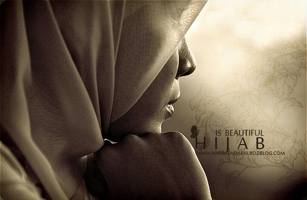 پوستر زیبای حجاب